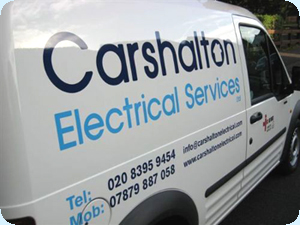 A Carshalton Electric Callout Van